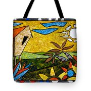 Country Peace Tote Bag