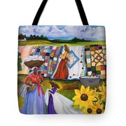 Country Quilts Tote Bag