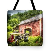 Country Reds Tote Bag