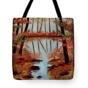 Country Reflections Tote Bag