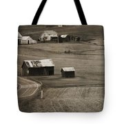 Country Road Holmes County Ohio Tote Bag