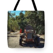 Country Road In California  Tote Bag