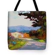 Country Road - Tuscany Tote Bag