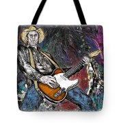 Country Rock Guitar Tote Bag