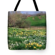 Country Spring Tote Bag by Bill Wakeley