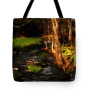 Country Stream Tote Bag