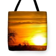 Country Sunrise 1-27-11 Tote Bag