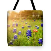 Country Wildflowers Tote Bag