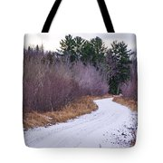 Country Winter 13 Tote Bag