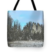 Country Winter 15 Tote Bag