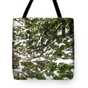Country Winter 8 Tote Bag