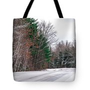 Country Winter 9 Tote Bag