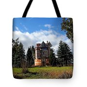 Countryside Castle Tote Bag