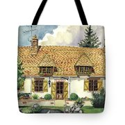 Countryside House In France Tote Bag