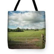 Countryside In Wales Tote Bag