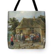 Countryside Inn Tote Bag