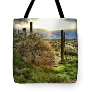 Countryside Sunset Tote Bag