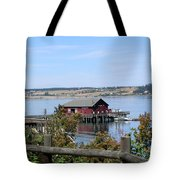 Coupeville Wharf II Tote Bag