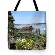 Coupeville Wharf Tote Bag