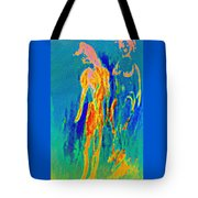 the hot dream of a love burning couple or I am actually the victim around here   Tote Bag