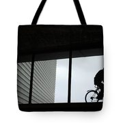 Couple At The Window Tote Bag