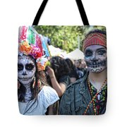 Couple Day Of Dead 2 Tote Bag
