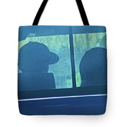 Couple In The Truck Tote Bag