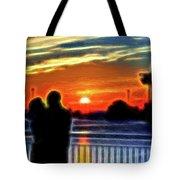 Romantic Sunrise. Tote Bag