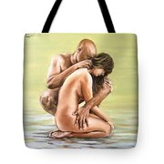 Couple Tote Bag