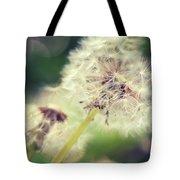Couple Of Dandelion  Tote Bag