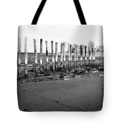 Couple On Beach Tote Bag