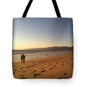 Couple On Venice Beach Tote Bag