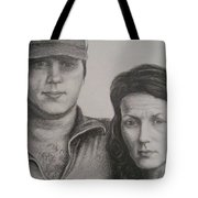 Couple Portrait 2 Tote Bag