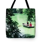 Couple Rowing Tote Bag