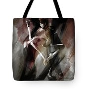 Couple Tango Dance  Tote Bag