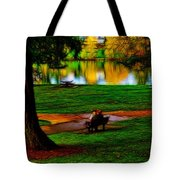 Couple's Therapy Tote Bag