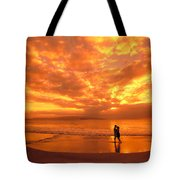 Couples Vacation Tote Bag