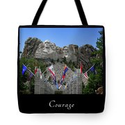 Courage 1 Tote Bag
