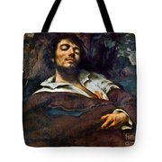Courbet: Self-portrait Tote Bag