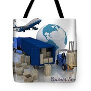 Courier Services Tote Bag