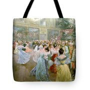 Court Ball At The Hofburg Tote Bag by Wilhelm Gause