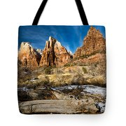 Court Of The Patriarchs Tote Bag