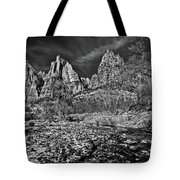 Court Of The Patriarchs II - Bw Tote Bag