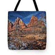 Court Of The Patriarchs II Tote Bag