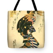 Courtesan And Riddle 1830 Tote Bag