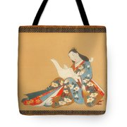 Courtesan Writing A Letter Tote Bag