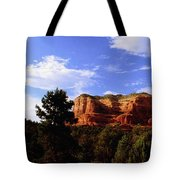 Courthous Butte Tote Bag