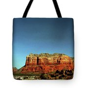 Courthouse Butte Tote Bag