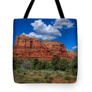 Courthouse Butte Tote Bag by Ola Allen