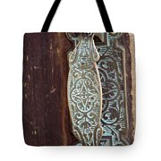 Courthouse Door Plate Tote Bag